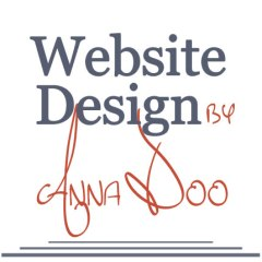 Website Design by Anna Doo Logo