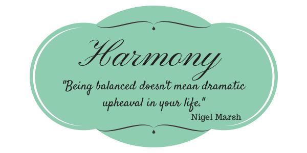 Harmony Work-Life Balance